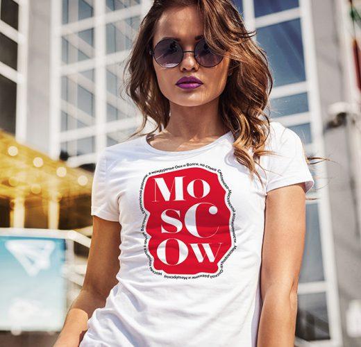 Camiseta Moscow city